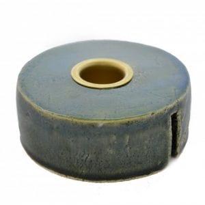 keramik-lysestage-groen-dansk-design