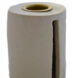 creme-lysestage-keramik-stentoej-dansk-design-bordpynt-indretning-bolig