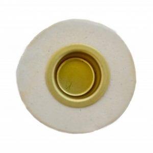 creme-lysestage-keramik-stentoej-dansk-design-handmade-bordpynt-kronlys