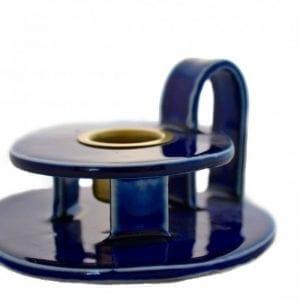 kammerstage-blaa-keramik-stentoej-dansk-design-bolig-indretning-bordpynt-kongeblaa-moderne