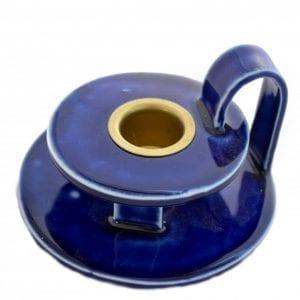kongeblaa kammerstage - keramik kammerstage - dansk design - -blaa-keramik-stentoej-dansk-design-bolig-indretning-bordpynt-kongeblaa-moderne