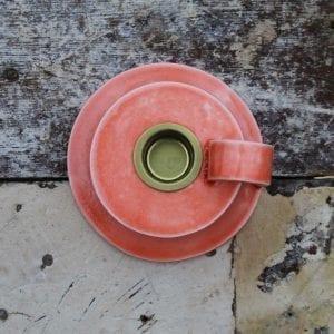koral keramik kammerstage -keramik-orange-vandmelon-handmade-dansk design-karina weihrauch-dansk design-bolig-indretning
