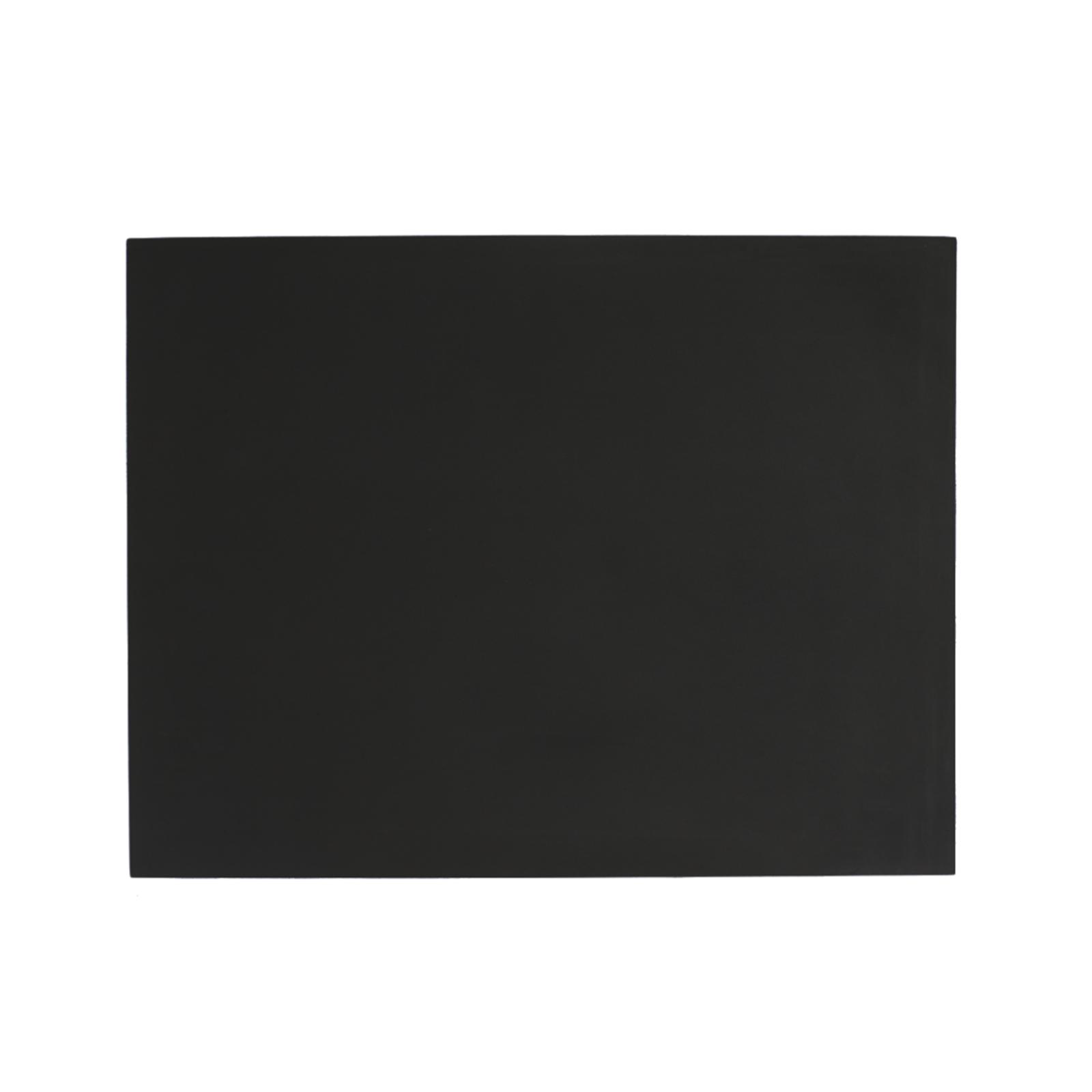 SEJ Design – Dækkeserviet Rektangulær Sort – 44 x 34 cm