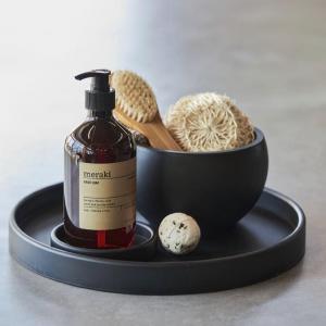 Sej design - kandebakke - rund bakke - rund skaal - servering - dansk design - pur gummi - bathroom - gaveide - modernhousedk
