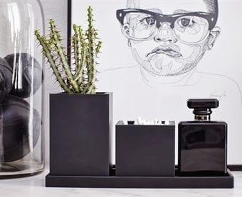 inspiration, opbevaringskrukke, potte, opbevaring, sort gummi, sejdesign, dansk design