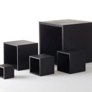 krukke-multi-kvadrat-medium-sort-12-x-12-x-12-cm