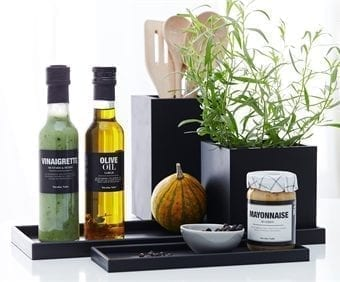 krukke, potte, sort gummi, opbevaringskrukke, opbevaring, design, stilrent design, dansk design, sejdesign
