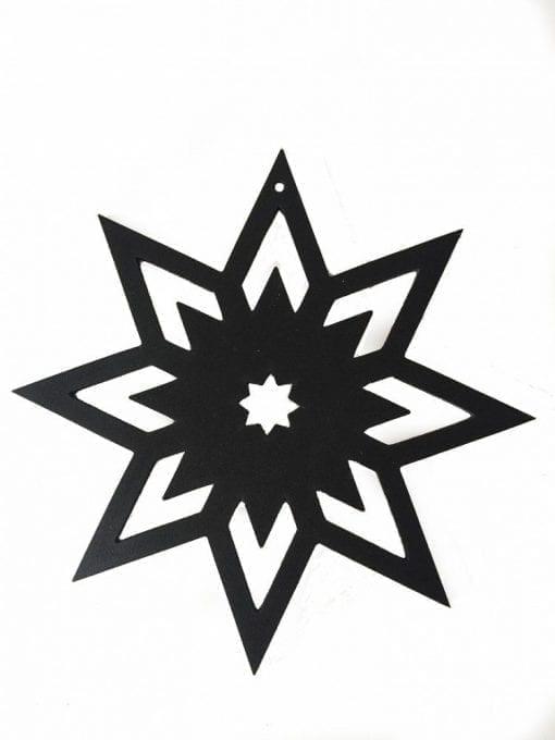 julepynt, bordpynt, pynt til tallerken, sort pynt, design, dansk design, design med historie, sejdesign,