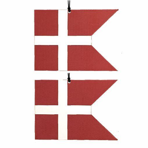 Flag, Spids vandret - 2 stk