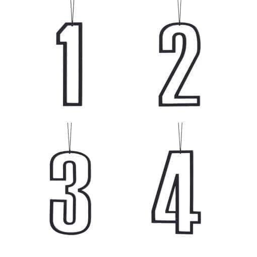 adventstal, advents tal, julepynt, pynt til lysestagen, felius design