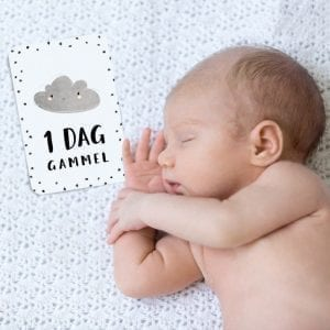 Milestone Baby Kort - Milestenskort Neutral
