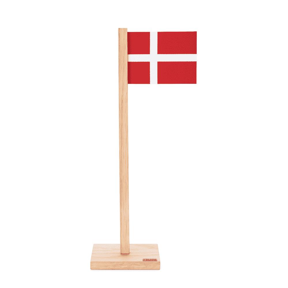 Dansk Bordflag – Egetræ – Felius Design