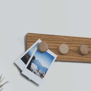Knap i træ - Til Plank