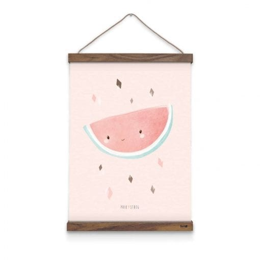 vandmelon-boerneplakat