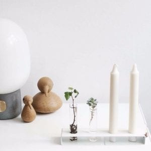 Lysestage og Vase - Simply4