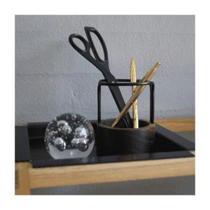 Pen-up-dot aarhus-walnut black-blyantholder-kontorartikler