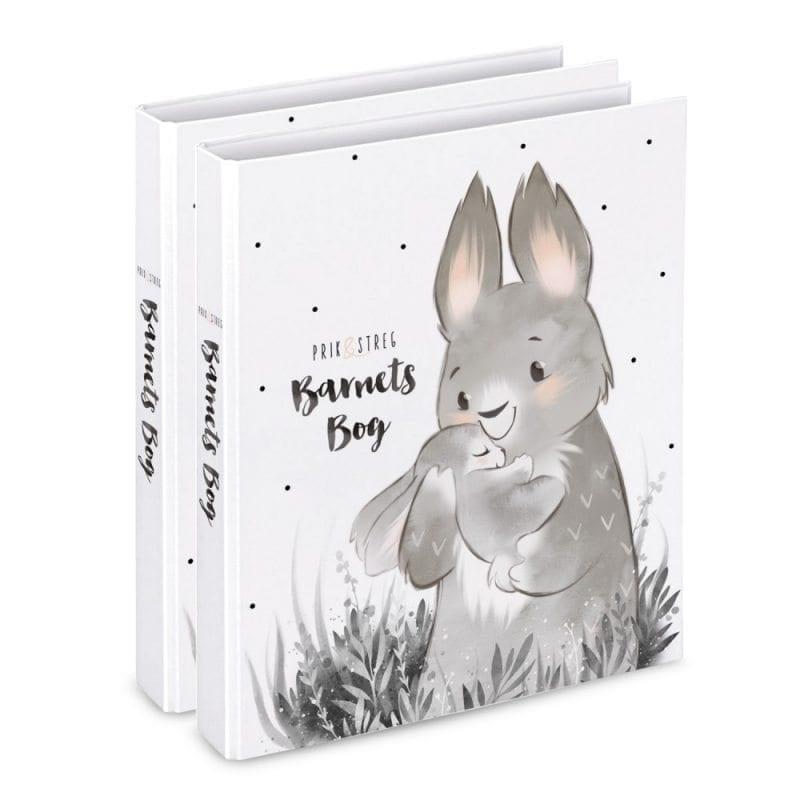 barnets bog til tvillinger - barnets bog fra prik og streg - dansk design