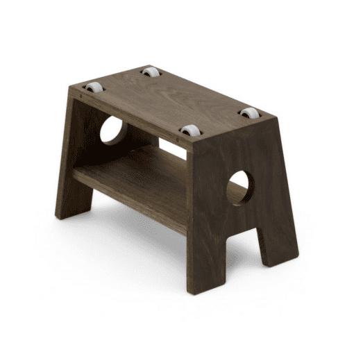 stool_moerk olieret egetrae_boerneskammel_collect furniture_dansk design