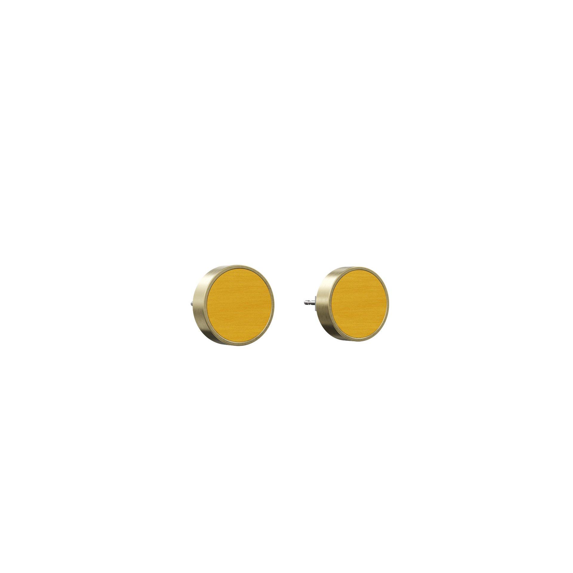 Øreringe Determinativ – Gul/Guld