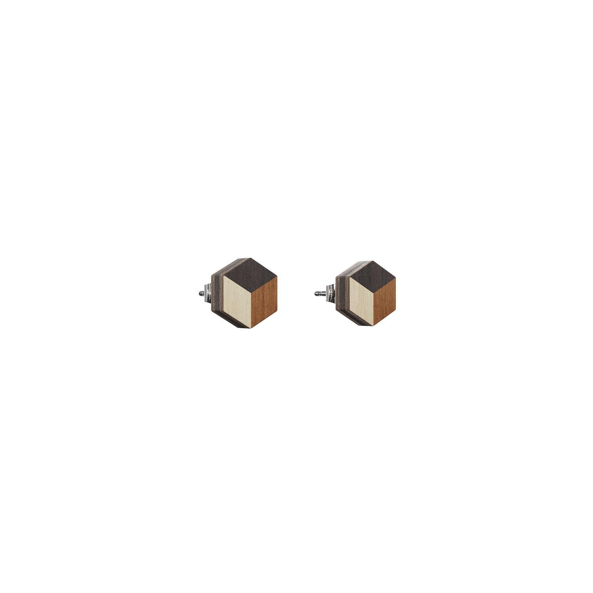 Øreringe Numerale – Brun