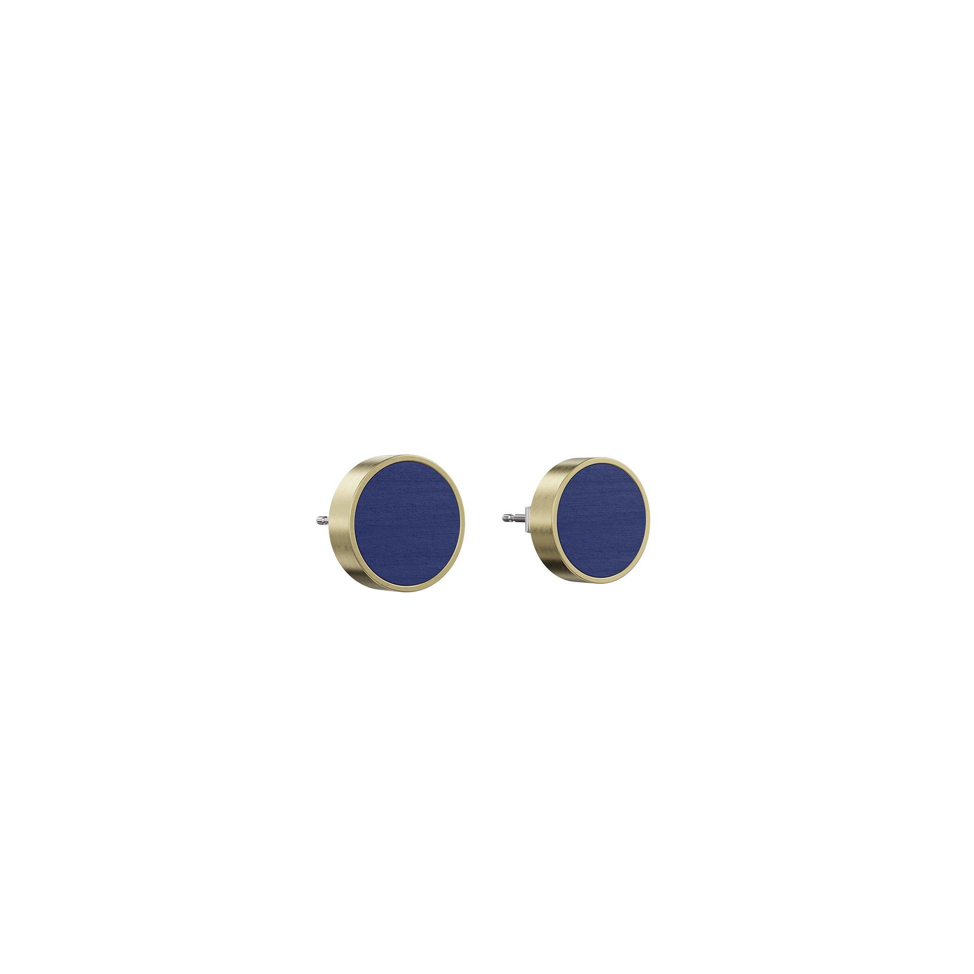 Jewelry by Grundled – Øreringe Determinativ – Mørkeblå