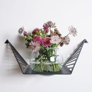 Glasvase klar (til planteophæng small)