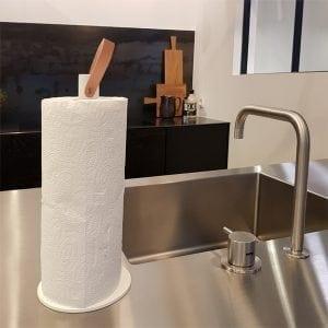 Køkkenrulleholder i Sort - 2GRAB