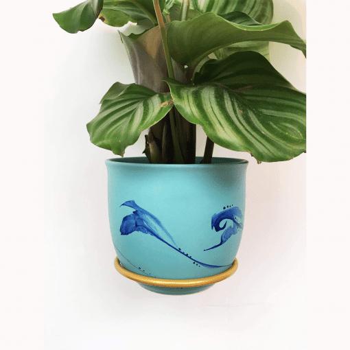 plantwire guld_leerbaek_planteholder_planteophaeng_dansk design