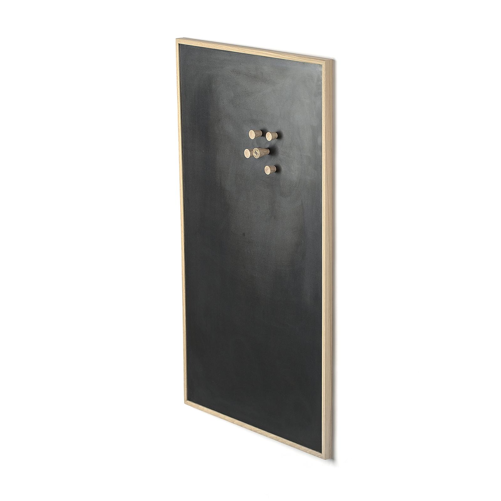Notice Board – Egetræ/Sort, Large