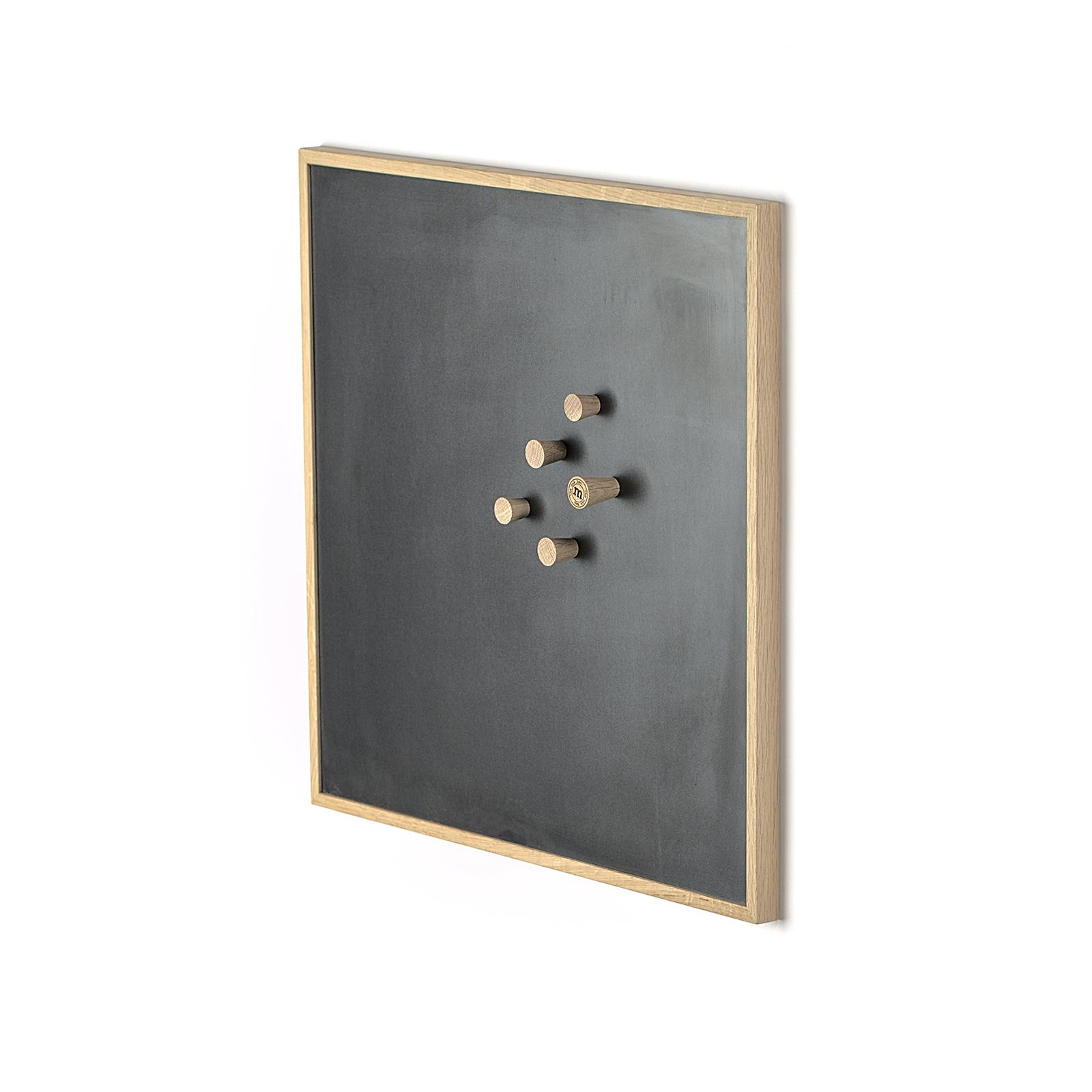 Notice Board – Egetræ/Sort, Medium