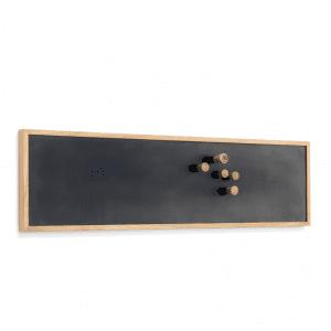 The Oak Men - Opslagstavle - notice board - small - oak - black - kontorartikler - kontor - julegaver til hende - julegaver til ham - koekken - entre - gaveideer - opholdsrum - modernhousedk