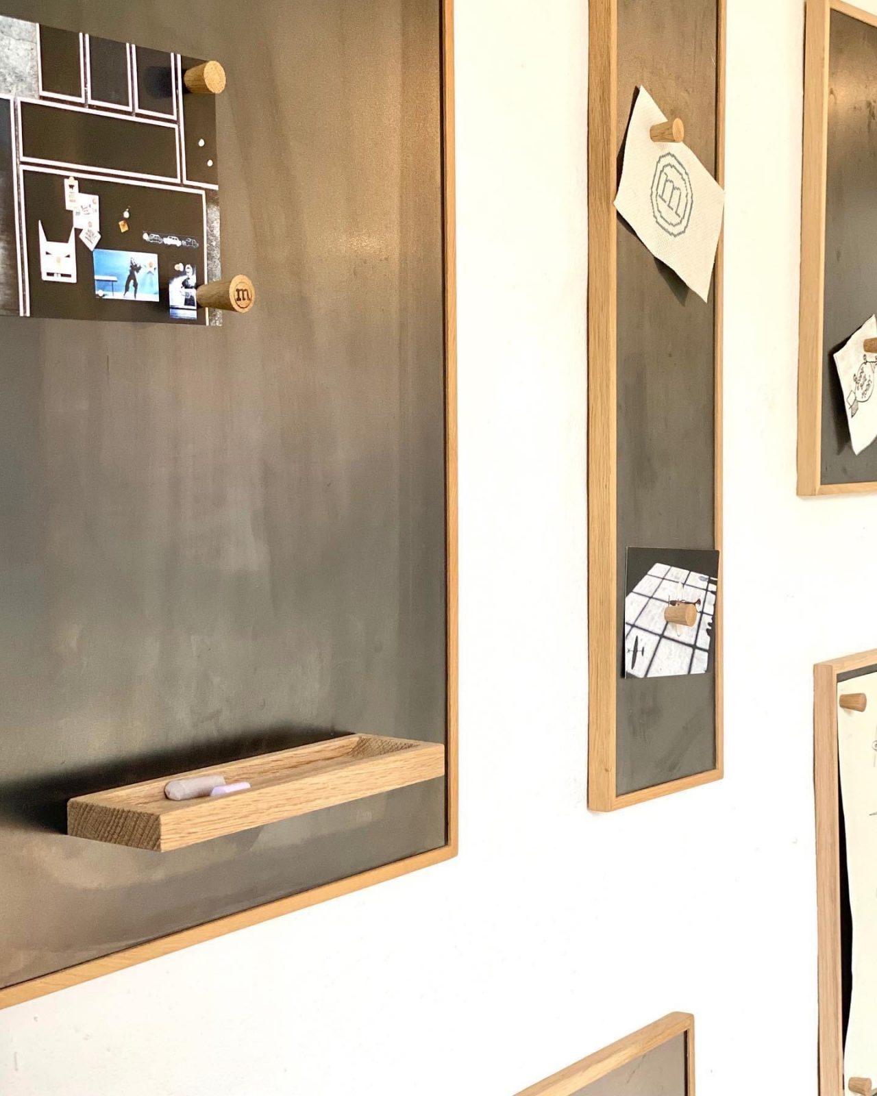 notice board - the oak men - large - small - opslagstavle