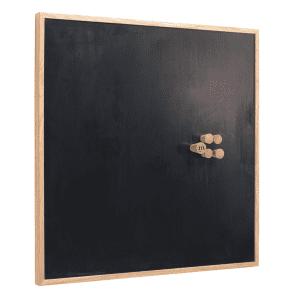 The Oak Men - Opslagstavle - notice board - mellem - medium - sort - egetrae - kontor - kontorartikler - gaveideer - julegave til ham - julegave til hende - koekken - opholdsrum - modernhousedk