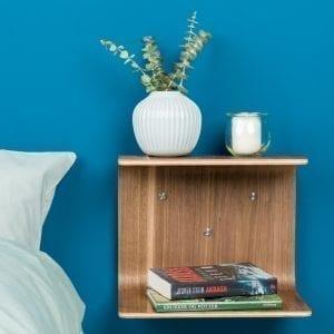 sengebord - natbord - hylde - hylder knast hylde - made by bent - modernhousedk - interior