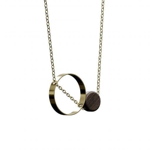 guld halskade - necklaes - jewelry by grundled