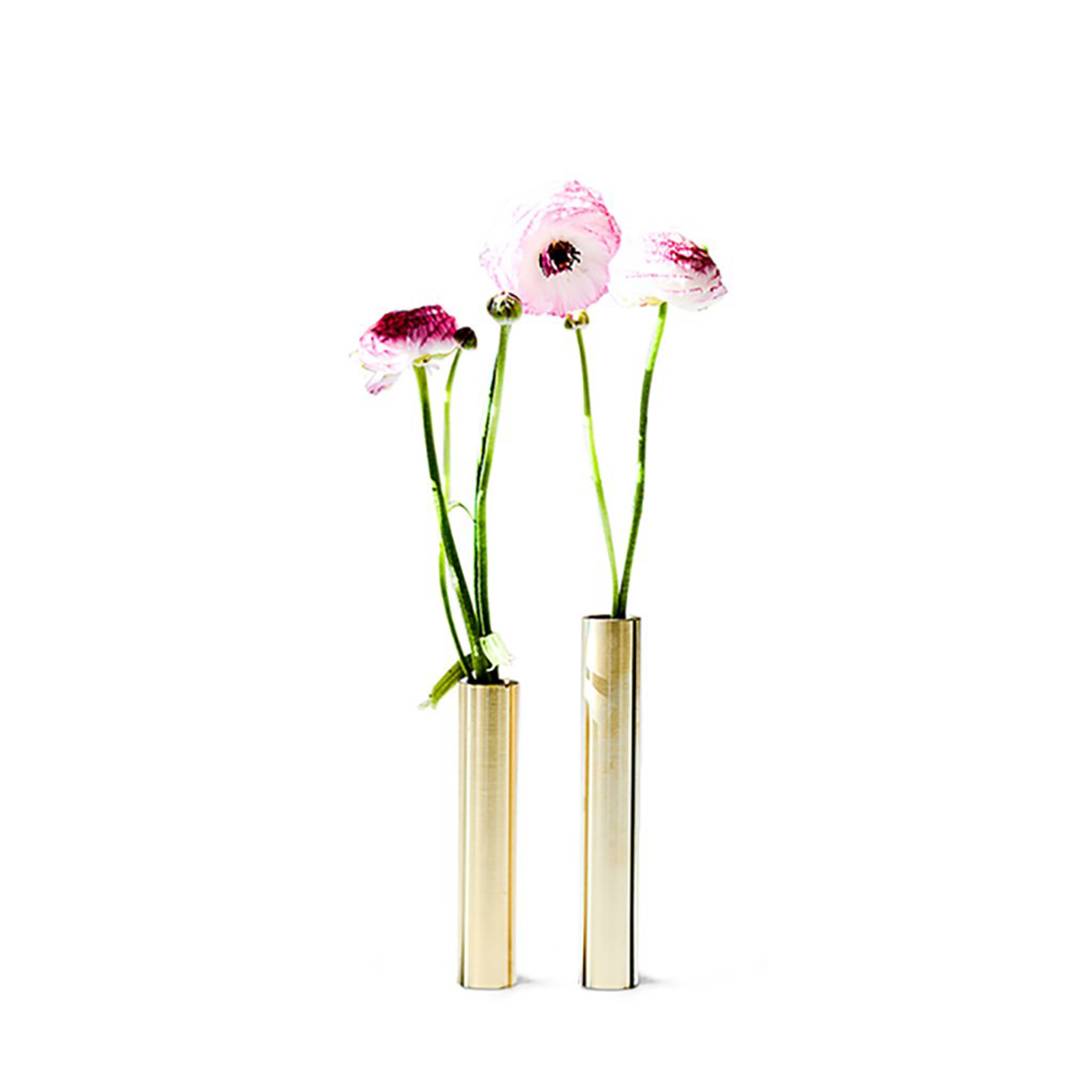 Slim Vase, Messing – 14 cm