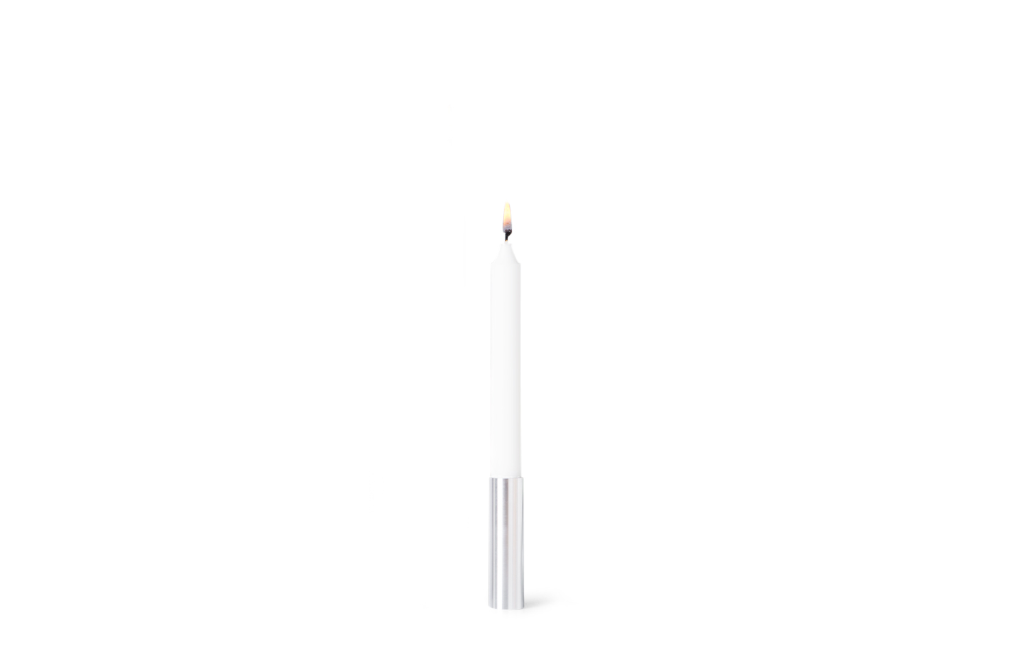 Slim Light Lysestage, Stål – 10 cm