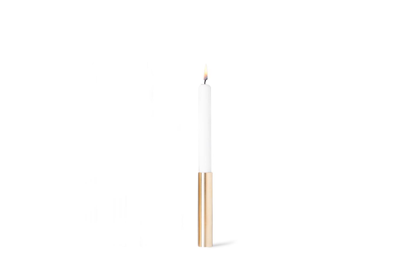 55° North – Slim Light Lysestage, Messing – 14 cm