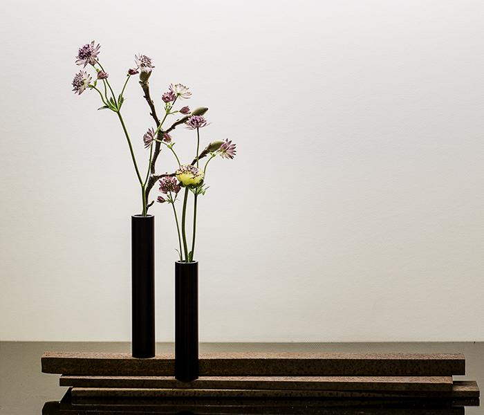 Slim Vase – Sort