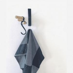 Nordic Function - laeder knage sort - knager