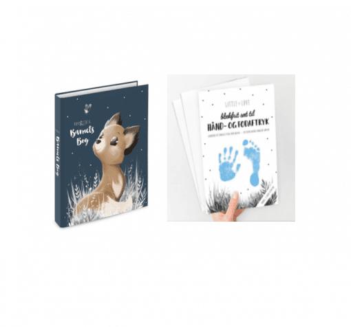 barnets bog og baby aftryk
