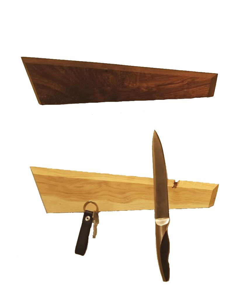 KANT Knivholder i Egetræ – Heldal Design