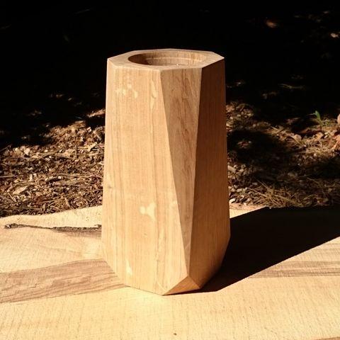 stor vase trae heldal design