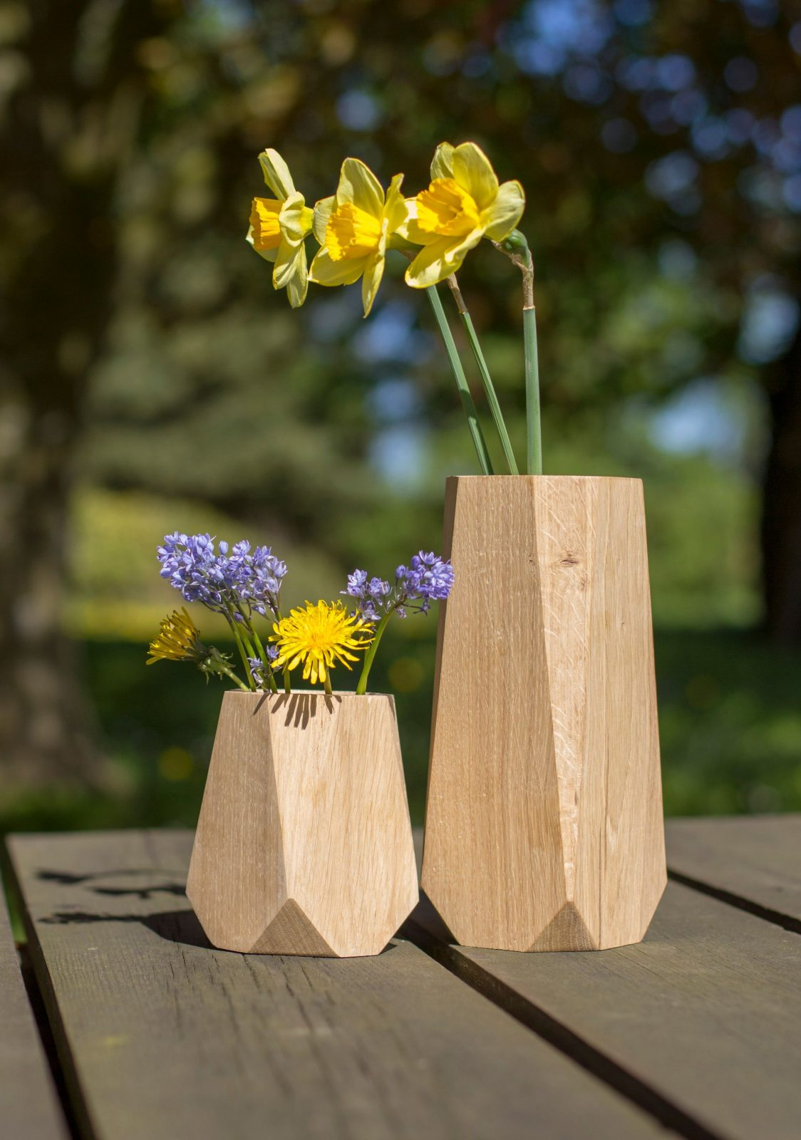 KANT Vase i træ – Heldal Design