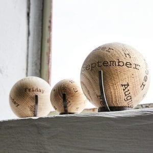 balls - the oak men - kalender the oak men - kontorartikler - dansk design - gaveide