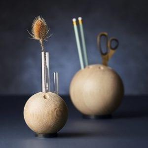vase - kontorartikler - the oak men - dansk design - egetrae - mini lebowski