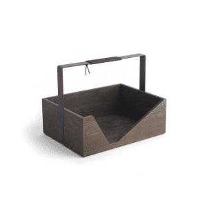 carrie magasinholder_dark oak_the oak men_dansk design_modernhouse