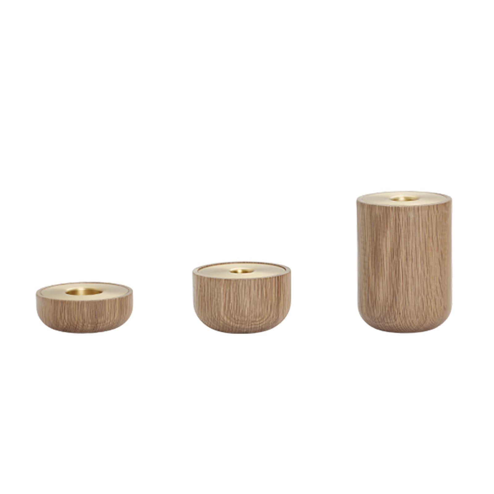 Oak Nordic Lysestager – Andersen Furniture