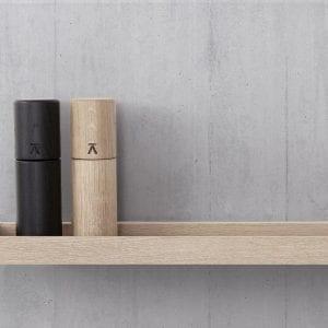 shelf - hylde - oak - andersen furniture - koekken