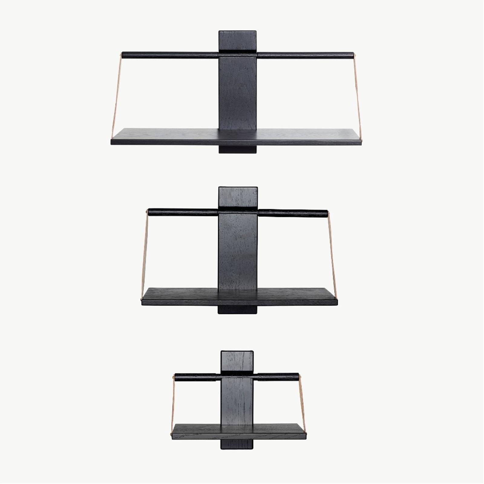 Wood Wall Hylde Sort – Andersen Furniture